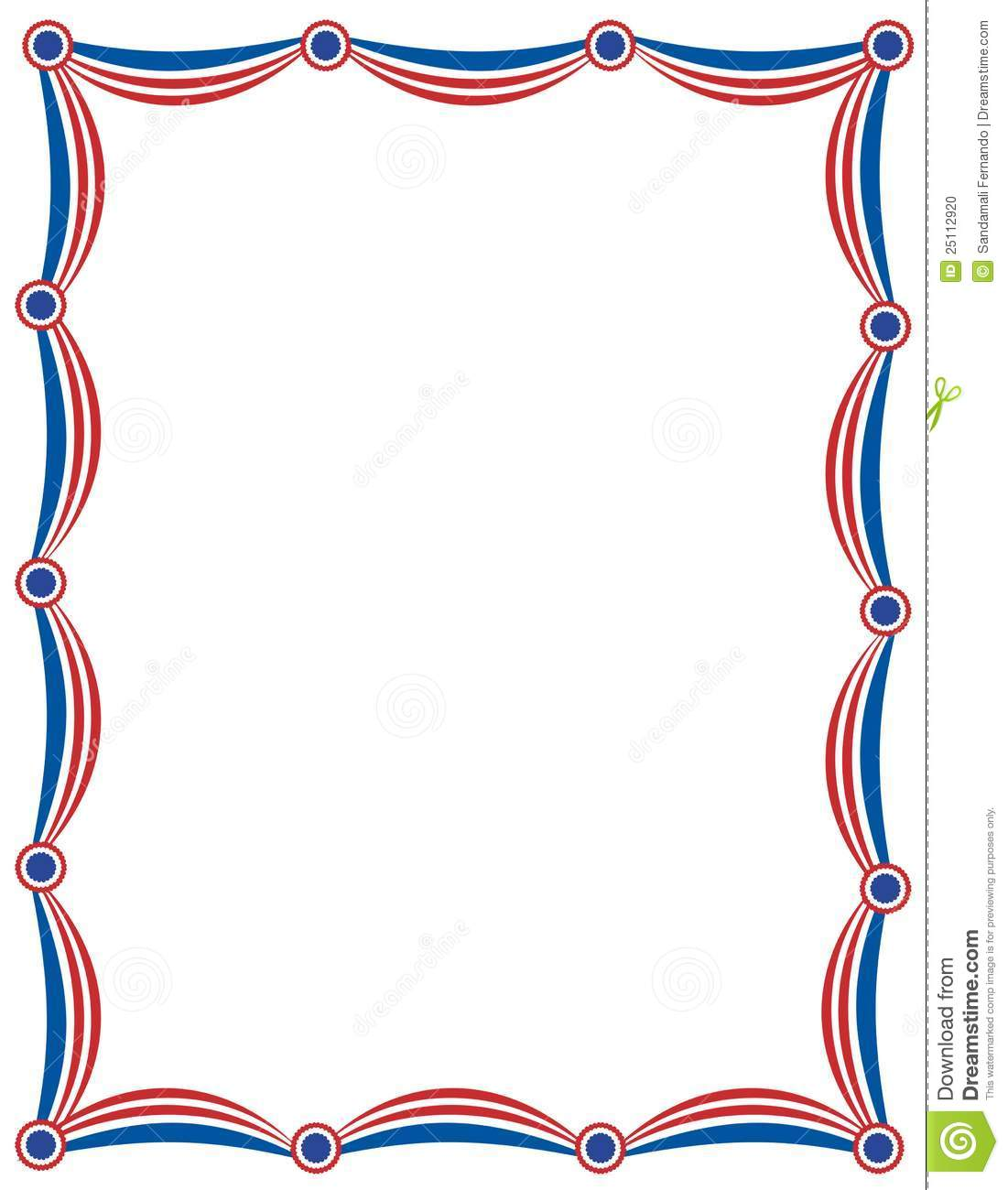 Patriotic clipart border. Free download best