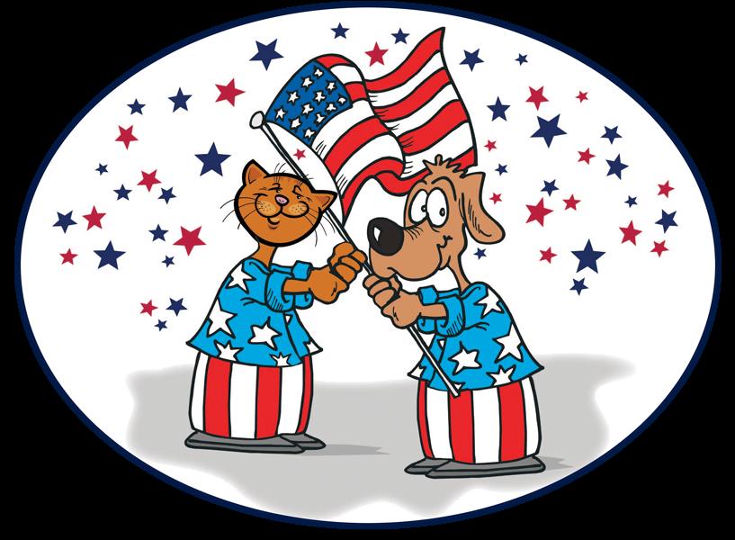 Pet clipart patriotic. Dog cliparts zone