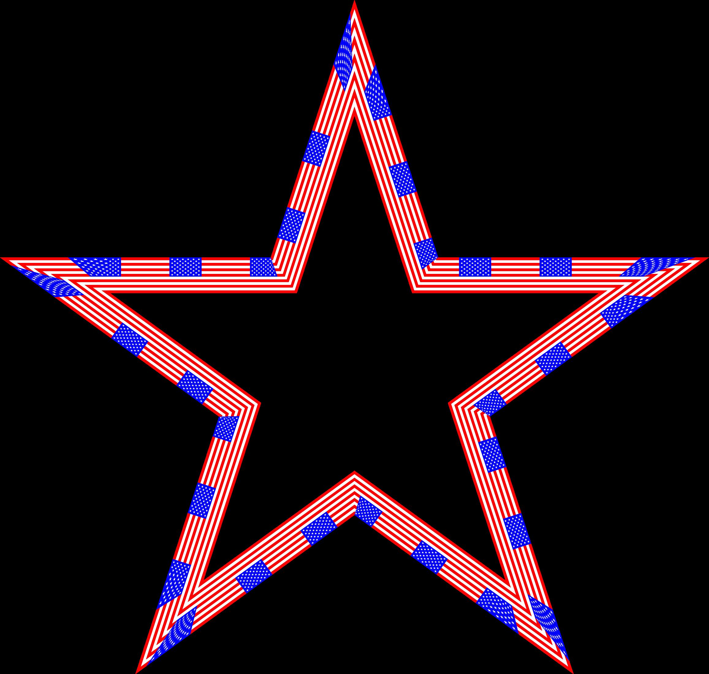 Patriotic clipart star usa, Patriotic star usa Transparent ...