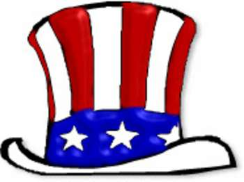 Patriotic clipart uncle sam's. Free picture of red