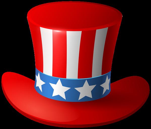 Sam usa hat png. Patriotic clipart uncle sam's