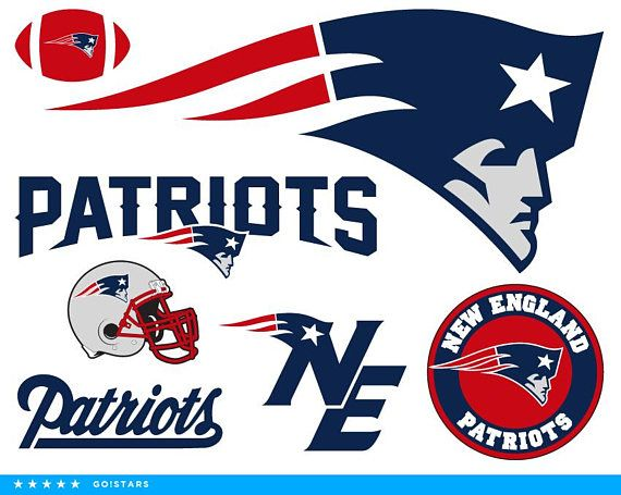 Patriots clipart. Svg new england crafts