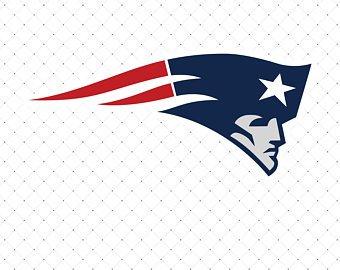 Patriots clipart. Logo etsy new england