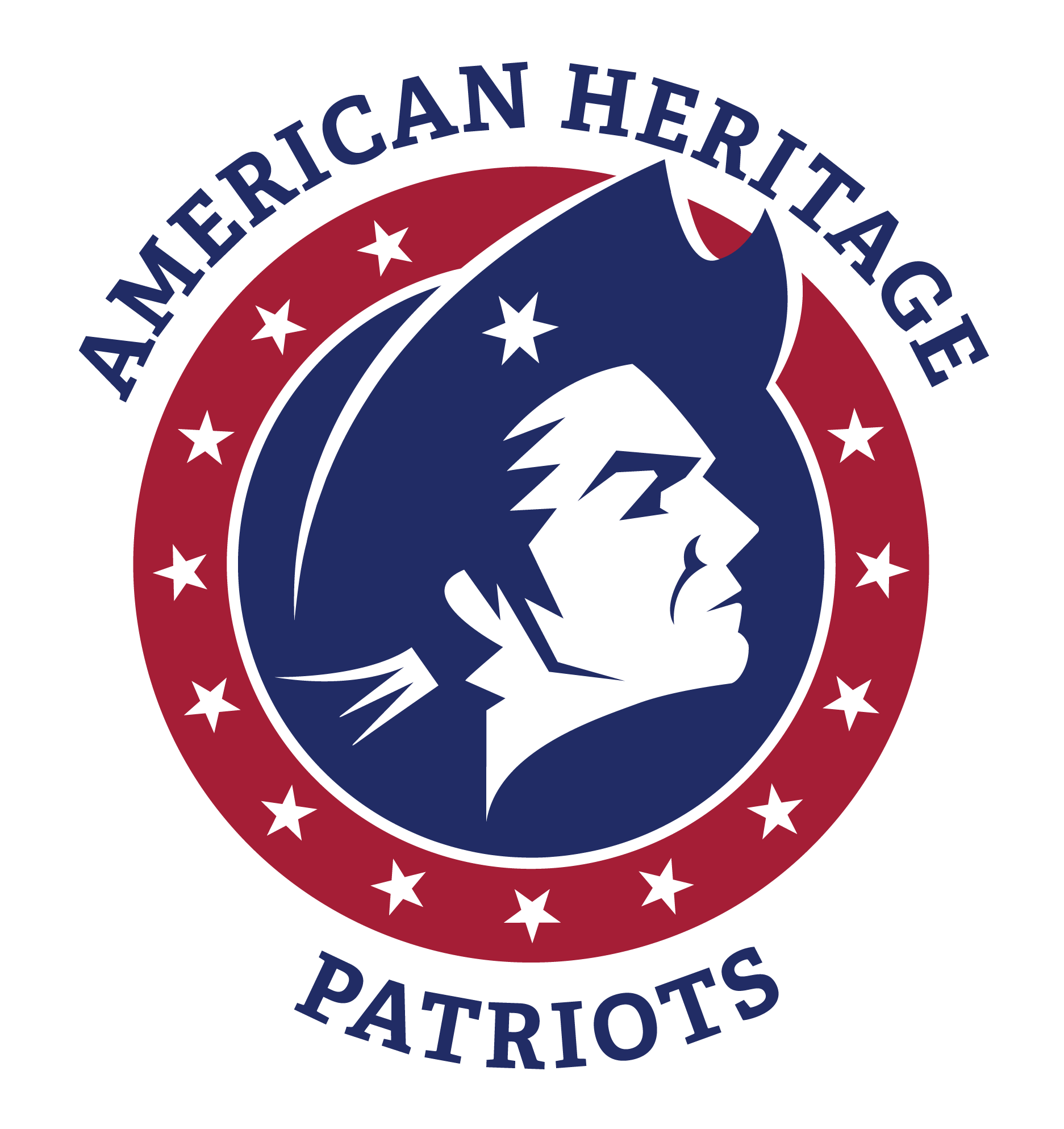 Ahs style guide patriot. Patriots clipart heritage high school
