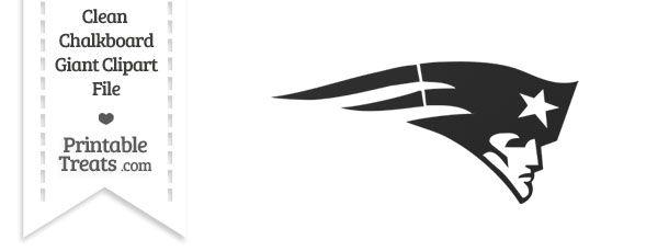 Patriots clipart logi. Clean chalkboard giant logo