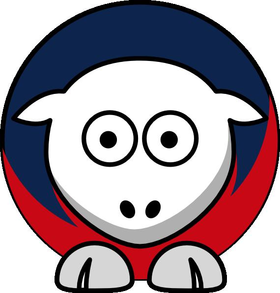 Patriots clipart new englad. Sheep toned england team