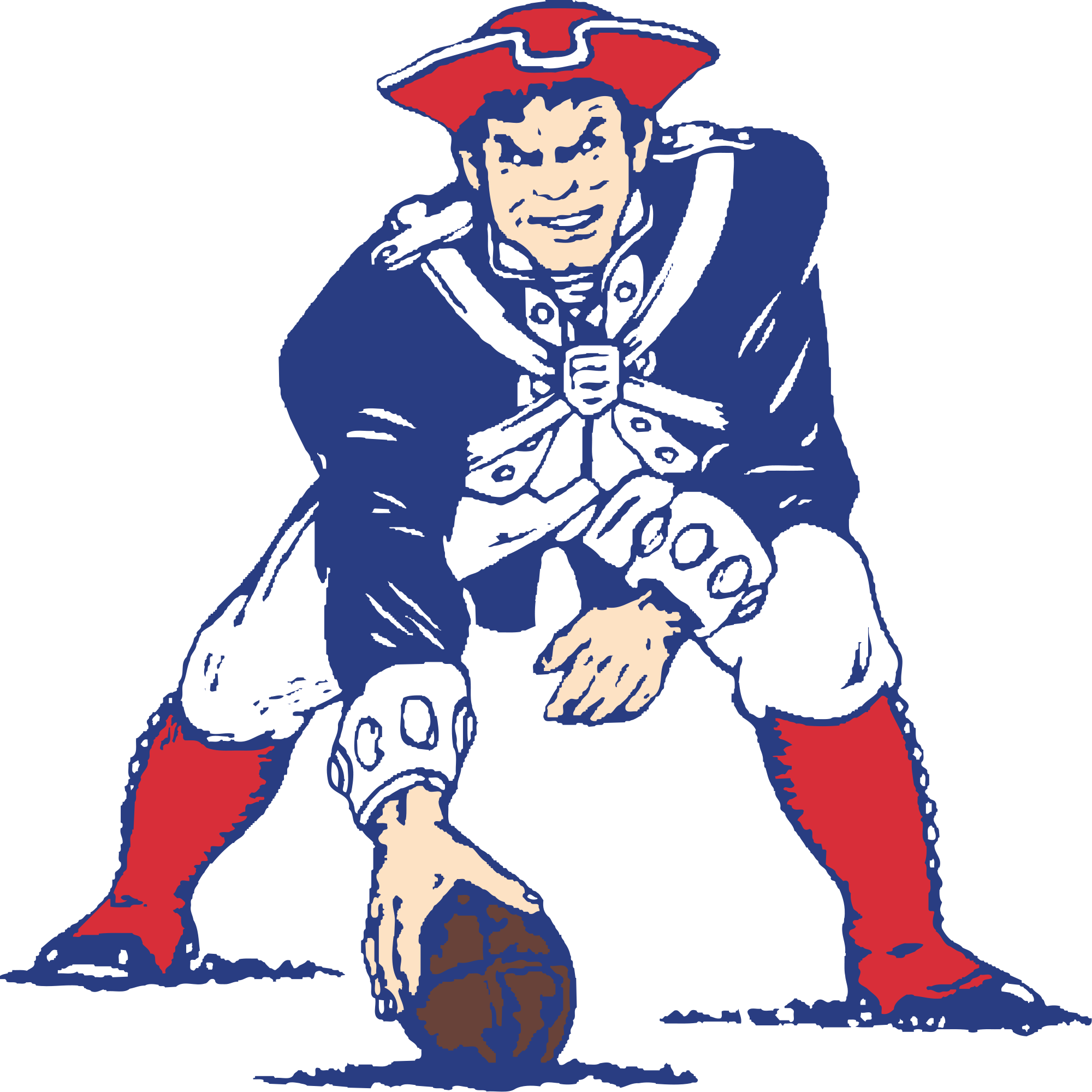 Patriots clipart new englad. Two days in d