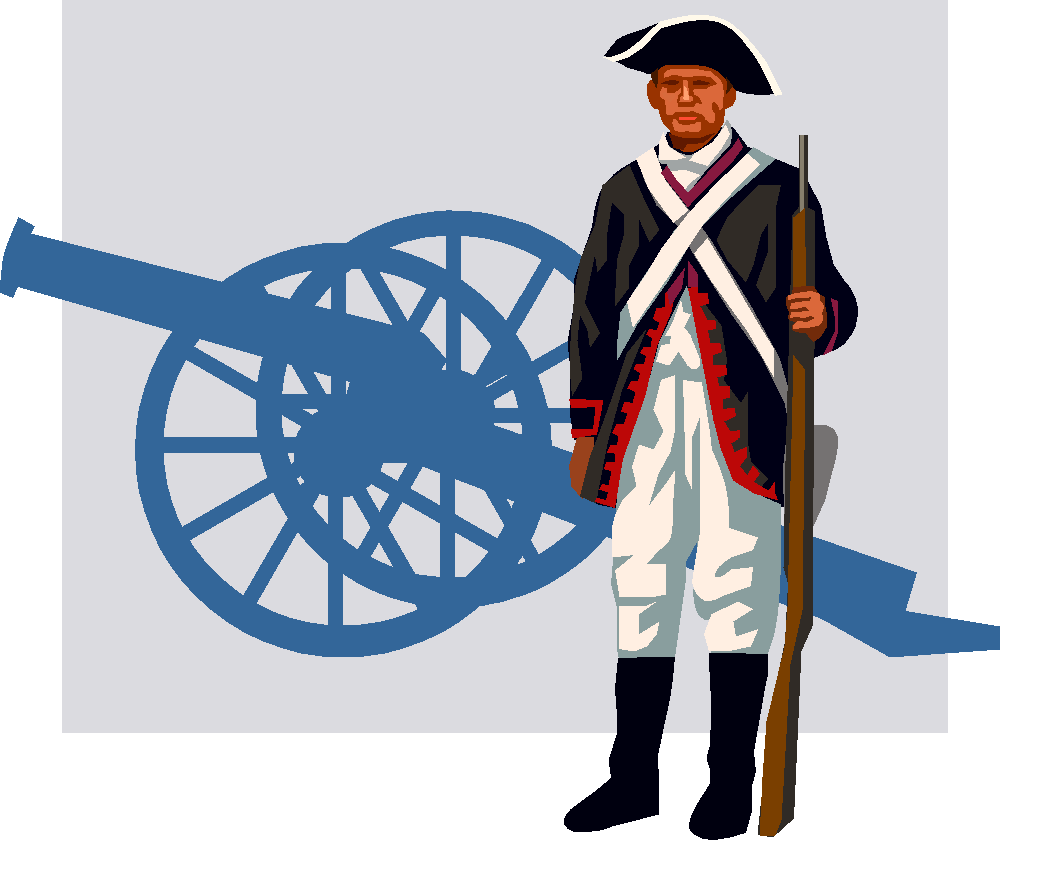 collection of colonial. Patriots clipart patriot soldier