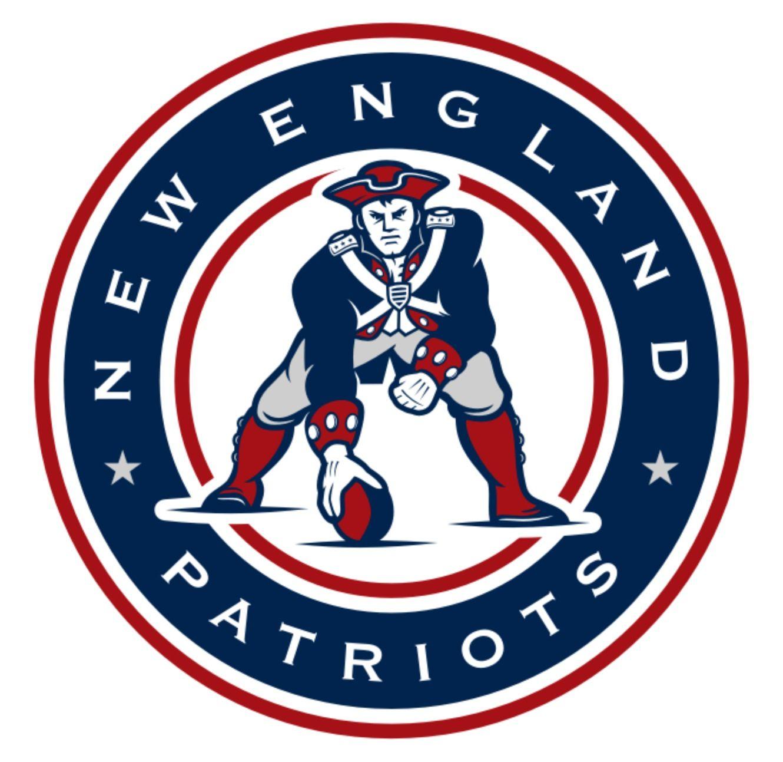 Patriots clipart retro. New england vintage who