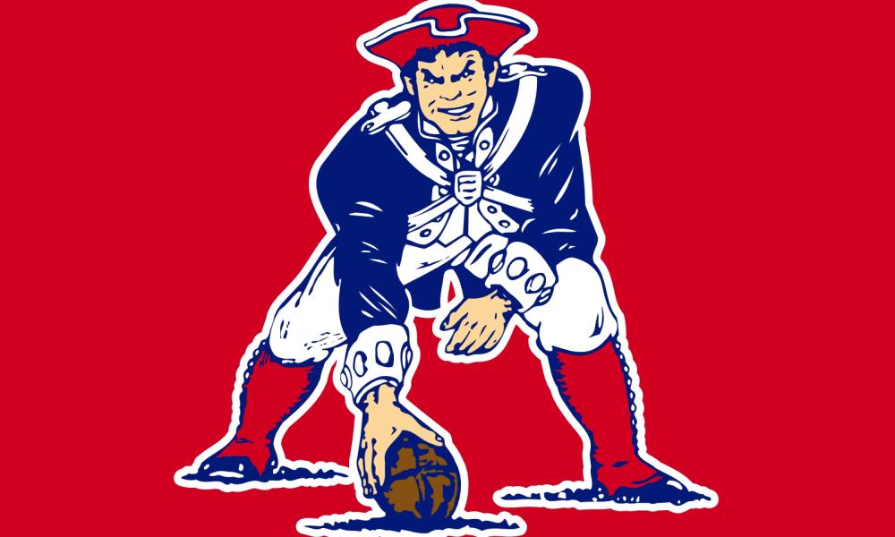 Ranking the best logos. Patriots clipart retro