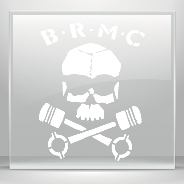 Simple color vinyl brmc. Welding clipart skull crossbones