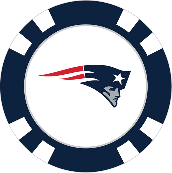 New england poker chip. Patriots clipart step by step