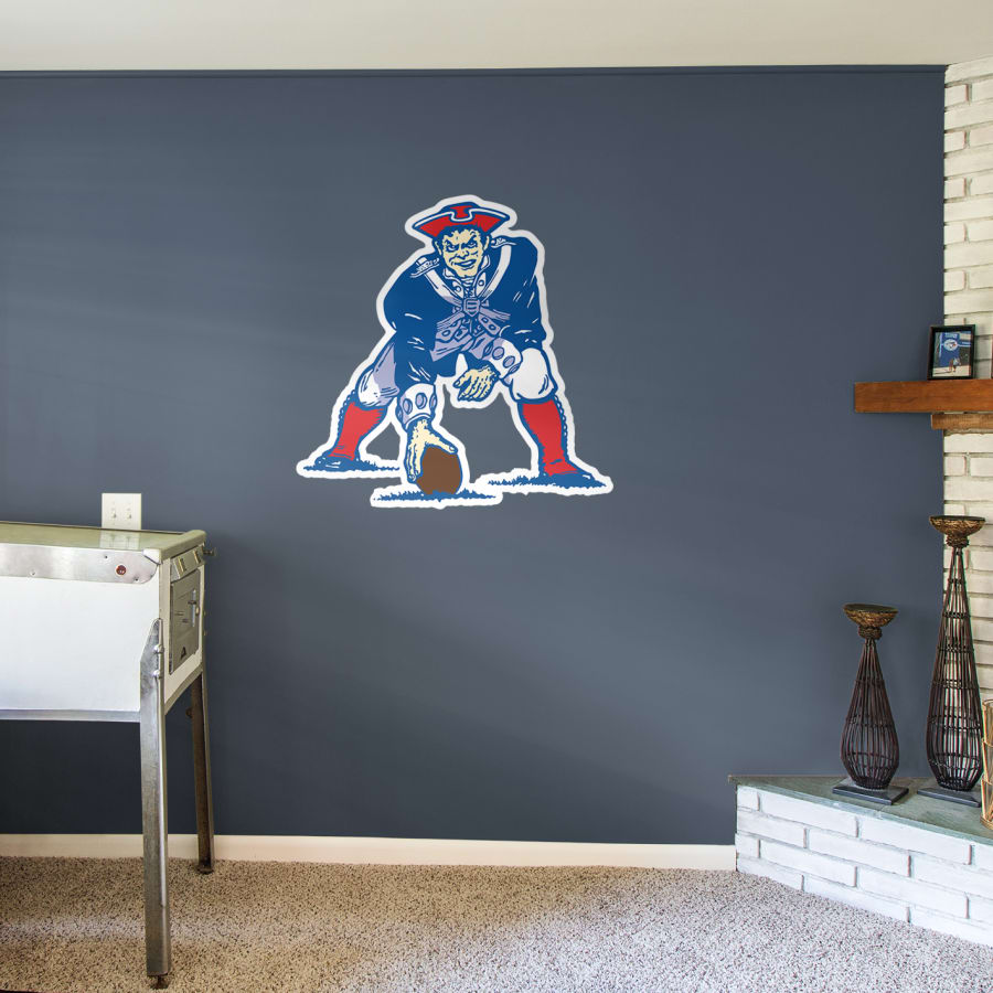 Boston original afl logo. Patriots clipart wall decals