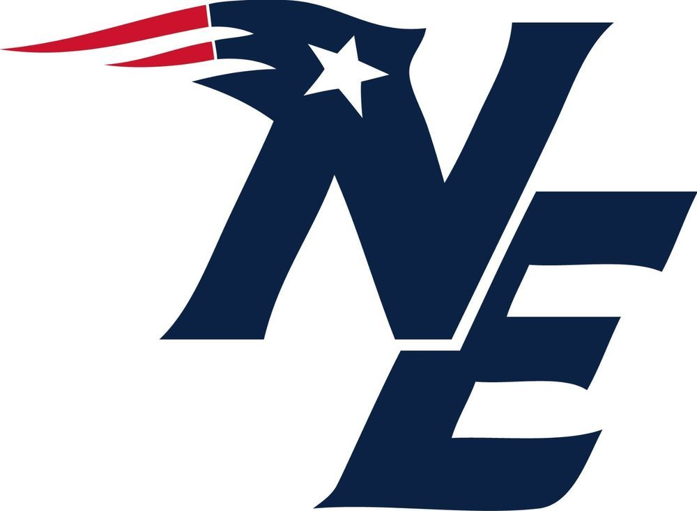 Patriots clipart wall decals. New england logo window