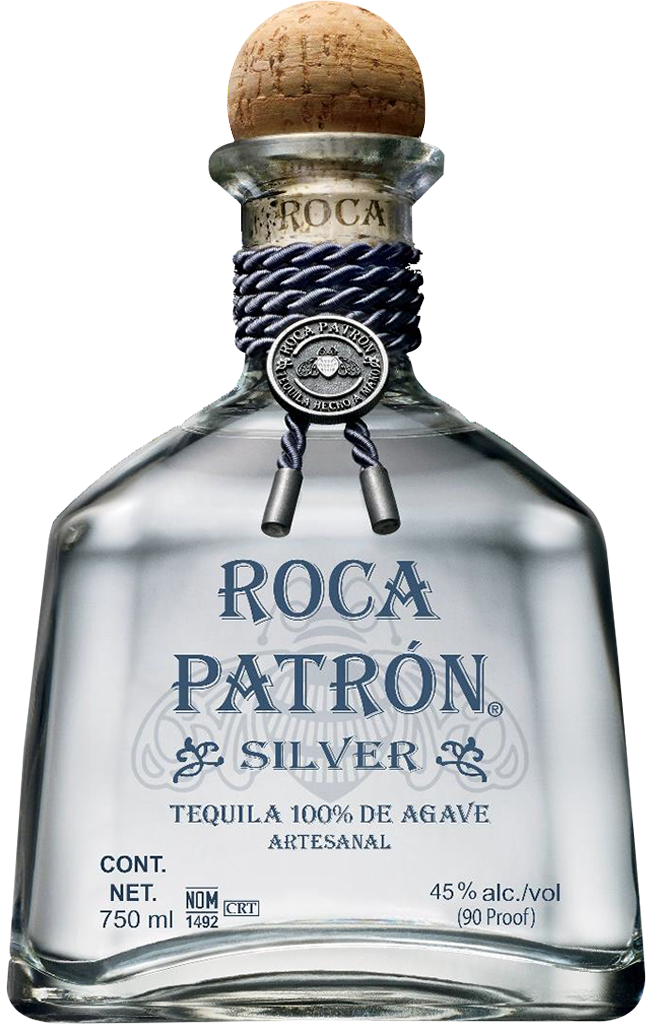 Roca silver tequila manitoba. Patron bottle png