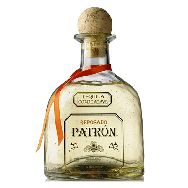 Tequila reposado . Patron bottle png
