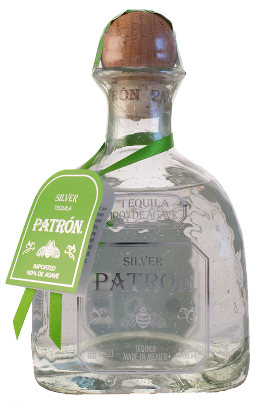 Patron bottle png. Silver tequila cl o
