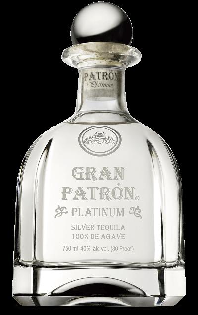 Patron bottle png. Gran patr n platinum