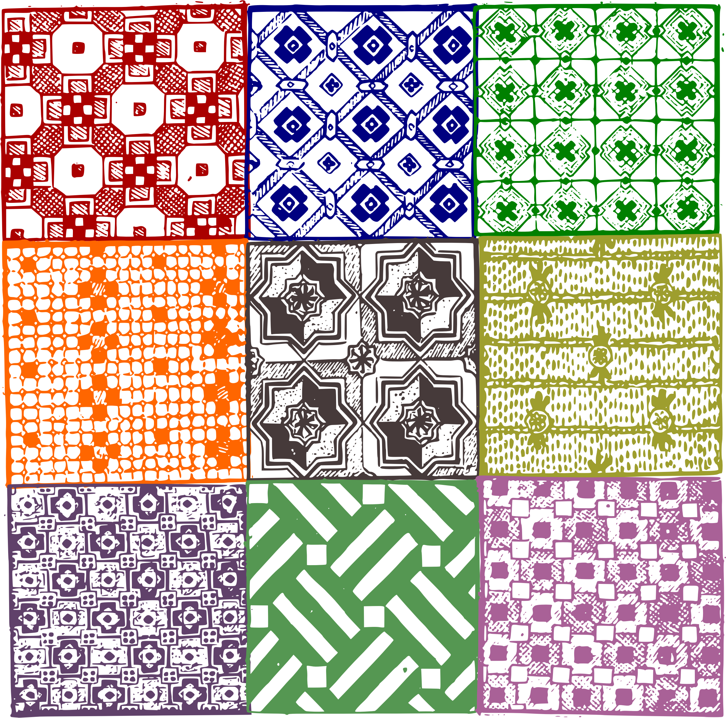 Quilt patterns icons png. Quilting clipart blanket