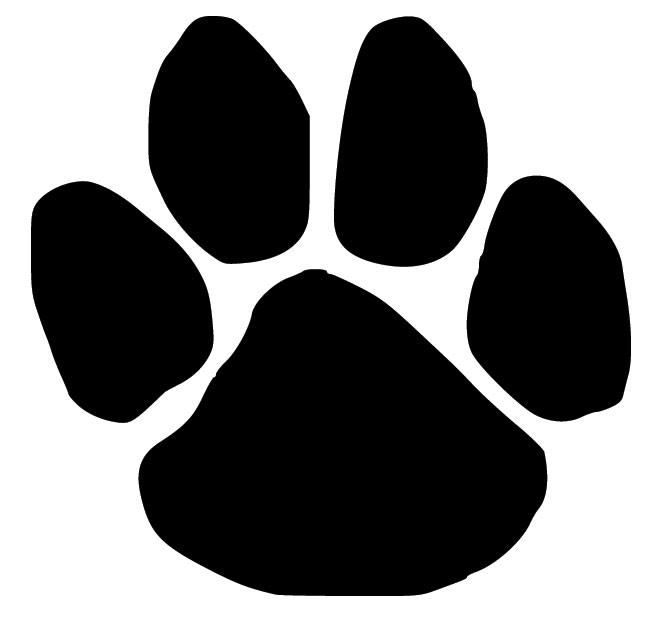 Pawprint clipart pet. Free dog paw print
