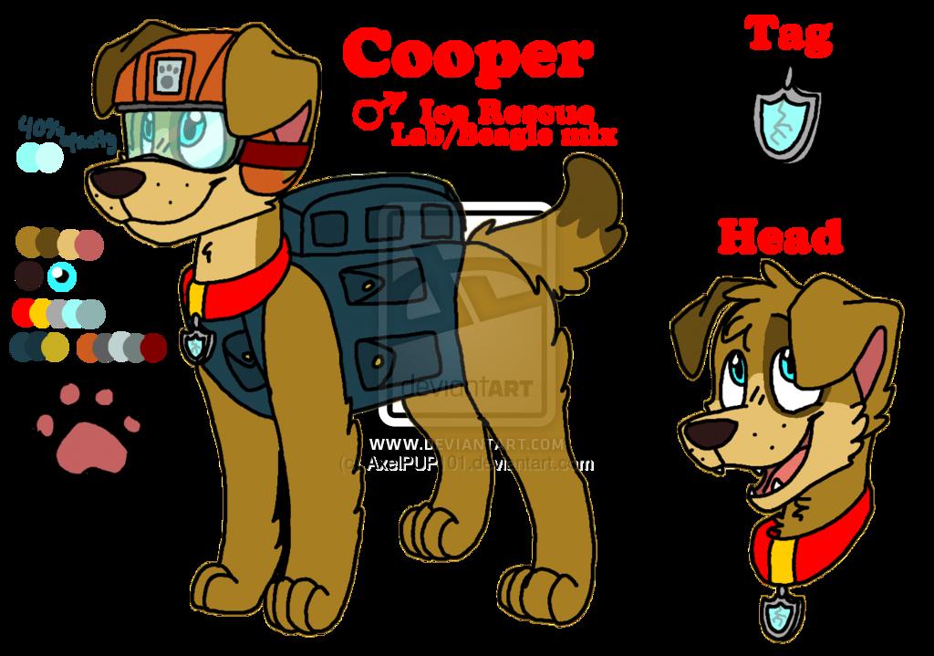 Paw clipart anime dog. Cooper patrol fanon wiki