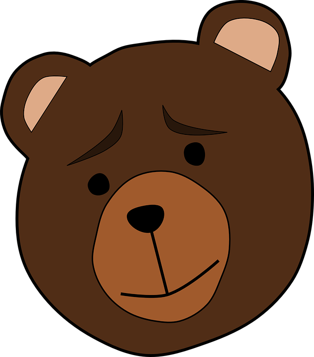Paw clipart bear cub. Brown mammal free collection