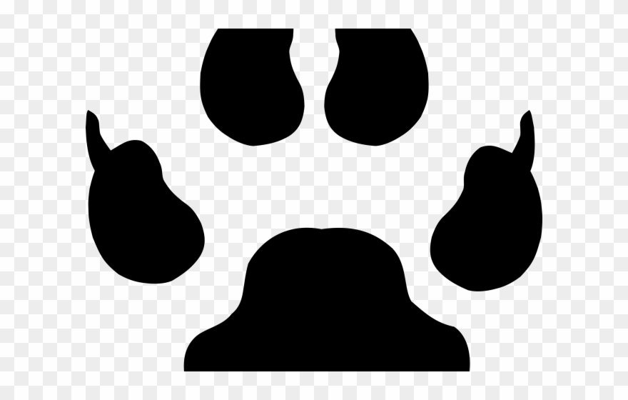 Paw clipart big. Icons prints png download