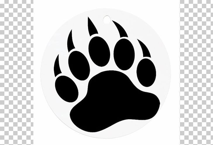 American png . Paw clipart black bear