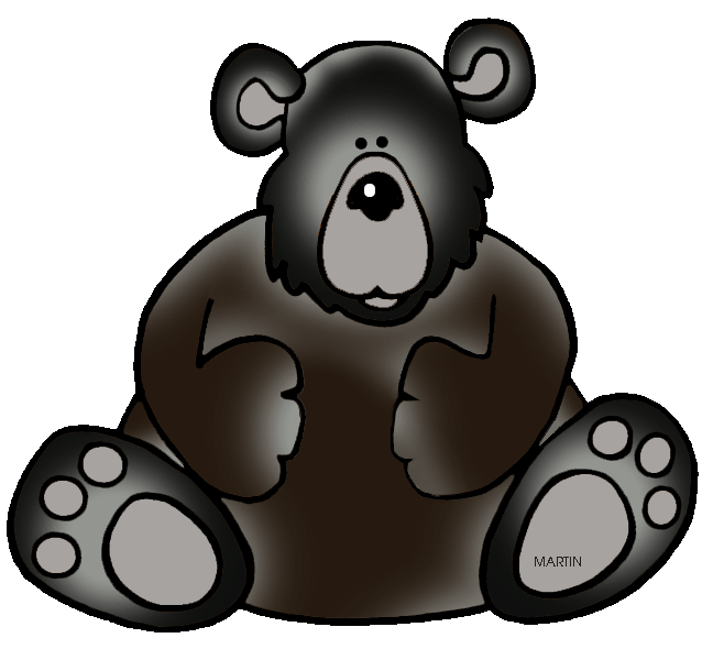 Paw clipart brown bear. United states clip art