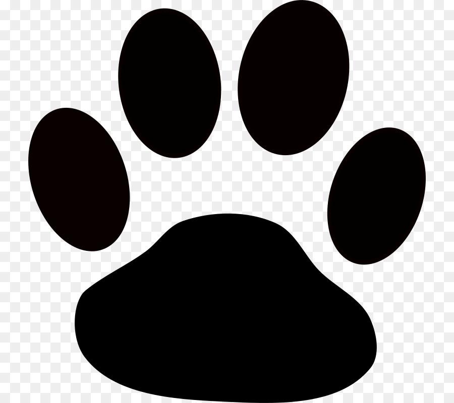 Bulldog cartoon nose circle. Paw clipart bull dog