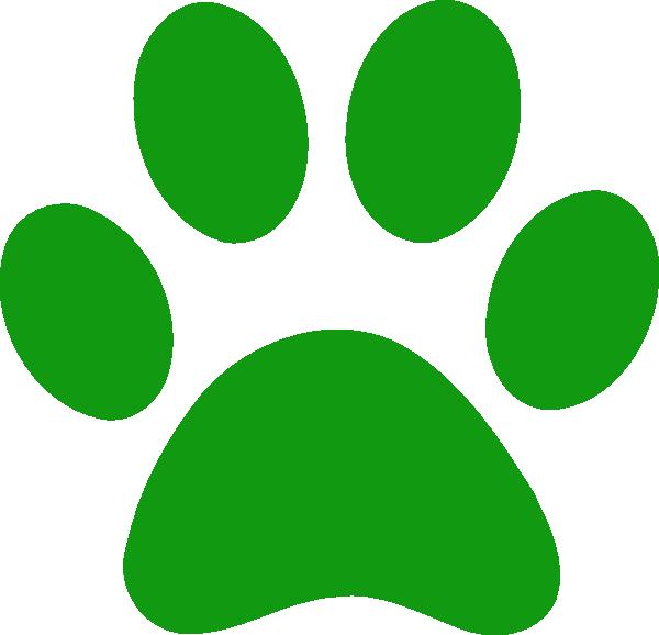 Image of bulldog paws. Paw clipart bull dog