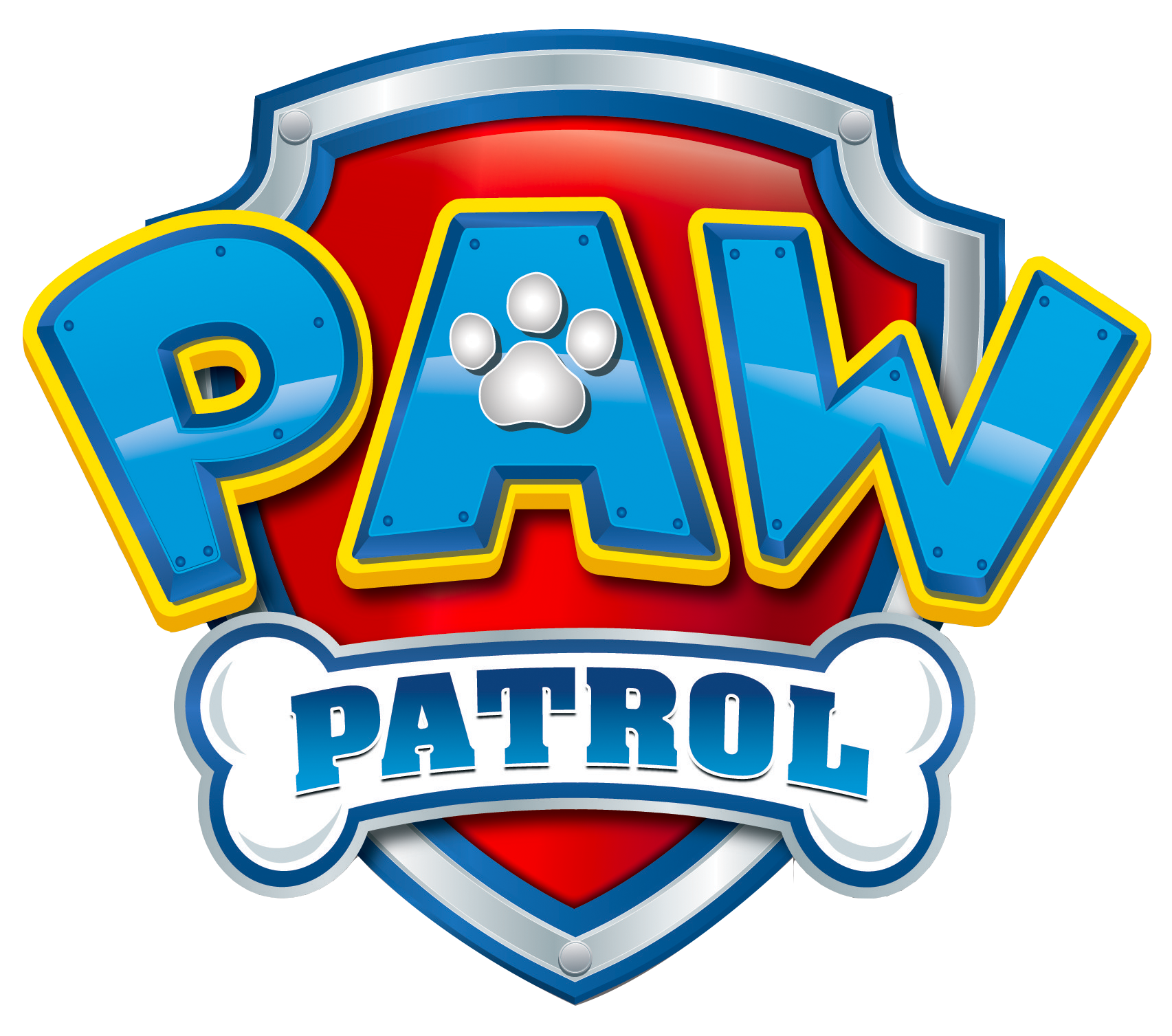 Patrol logo png no. Paw clipart clear background