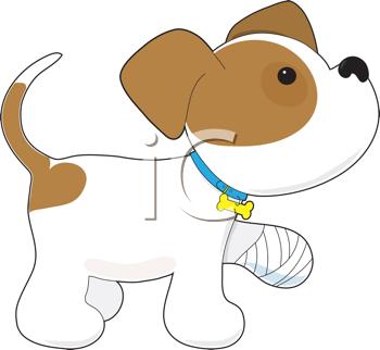Paw clipart dog leg. Royalty free image of
