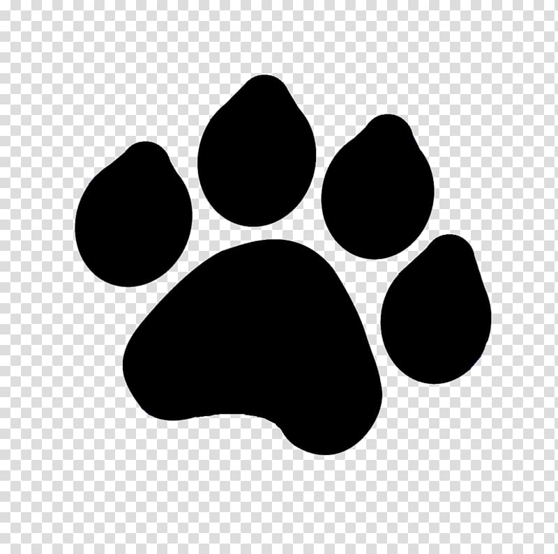 Paw clipart drawing. Tiger dog transparent background