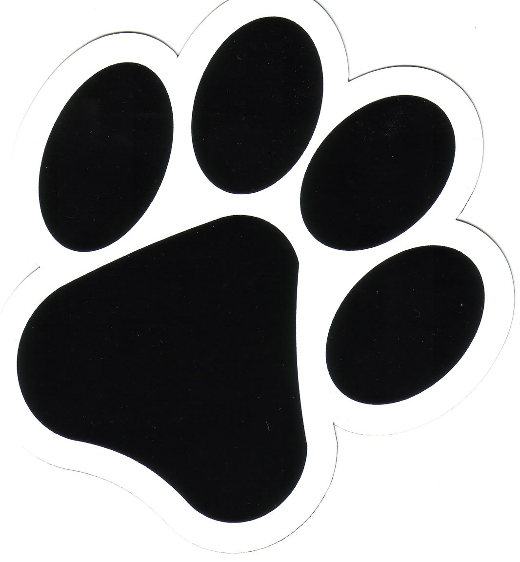 Paw clipart foot. Free dog feet cliparts