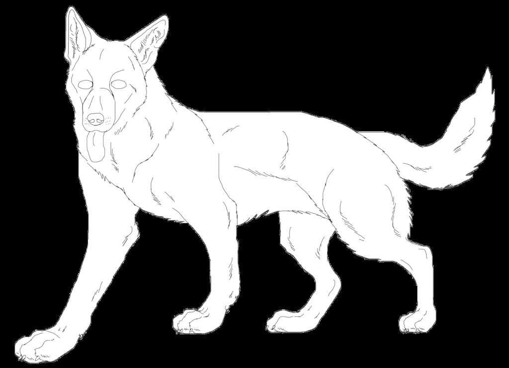 Paw clipart german shepherd. Shepard drawing at getdrawings