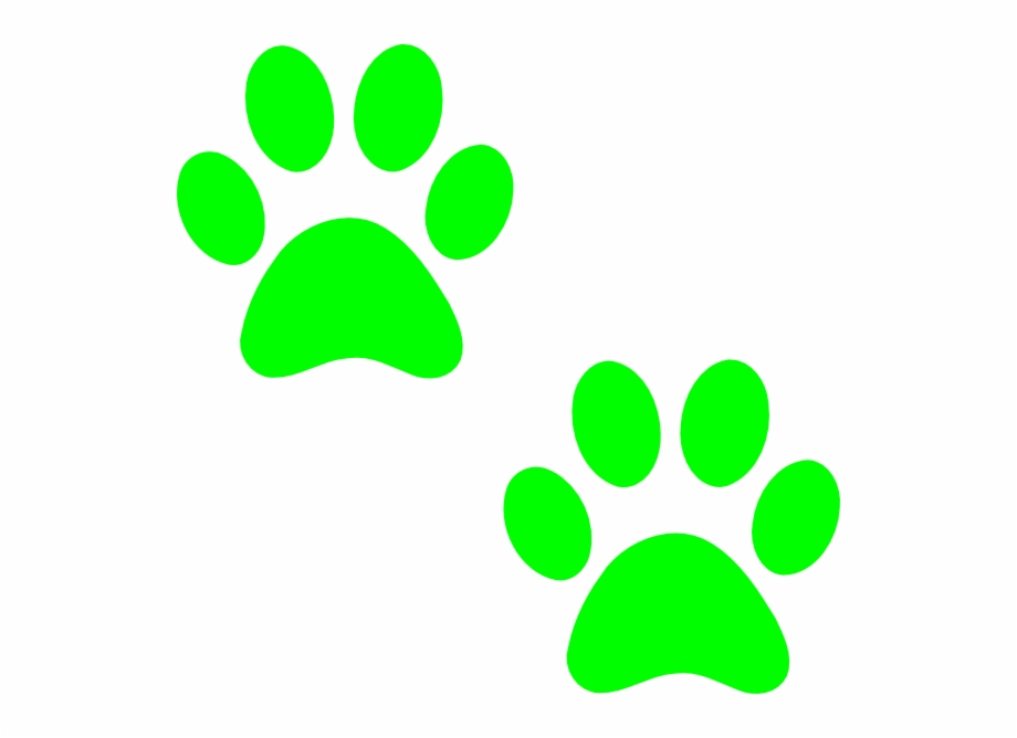 Paws clipart green dog. Husky paw print free