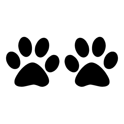 Paw clipart house cat. Free print download clip