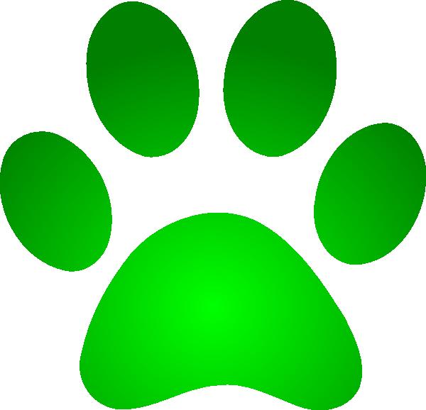 Pawprint clipart logo. Dog paw print group