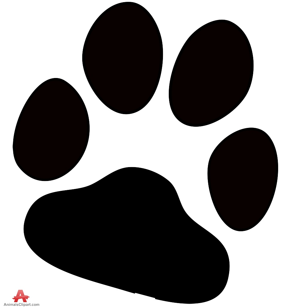 Dog paw print free. Pawprint clipart jpeg