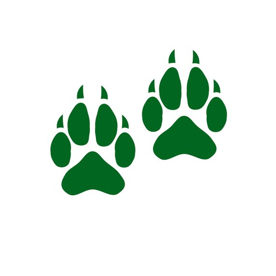Pawprint clipart high resolution. Pin on products