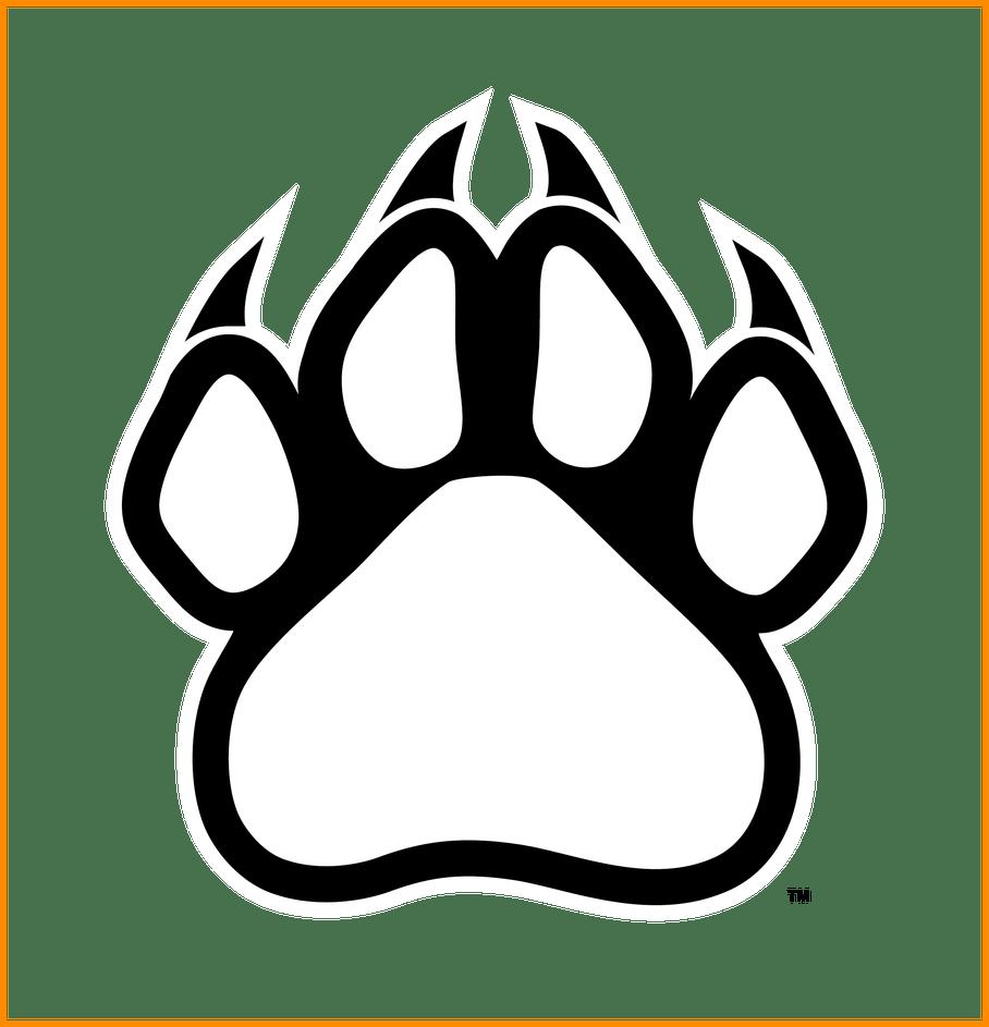 Paw clipart lion. Appealing print outline clip