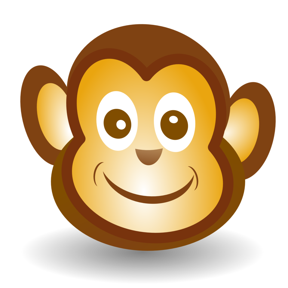 Paw clipart monkeys. Cartoon monkey cliparts shop