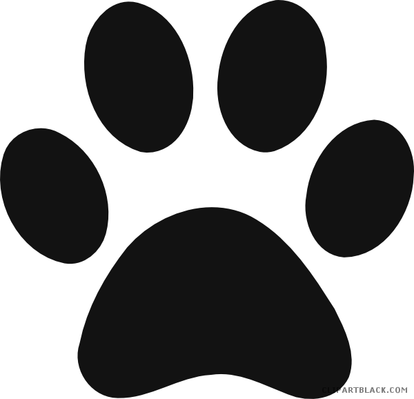 Paw clipart panther. Clipartblack com animal free
