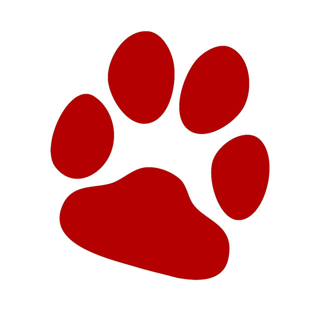 Paw clipart red dog, Paw red dog Transparent FREE for ... (640 x 640 Pixel)