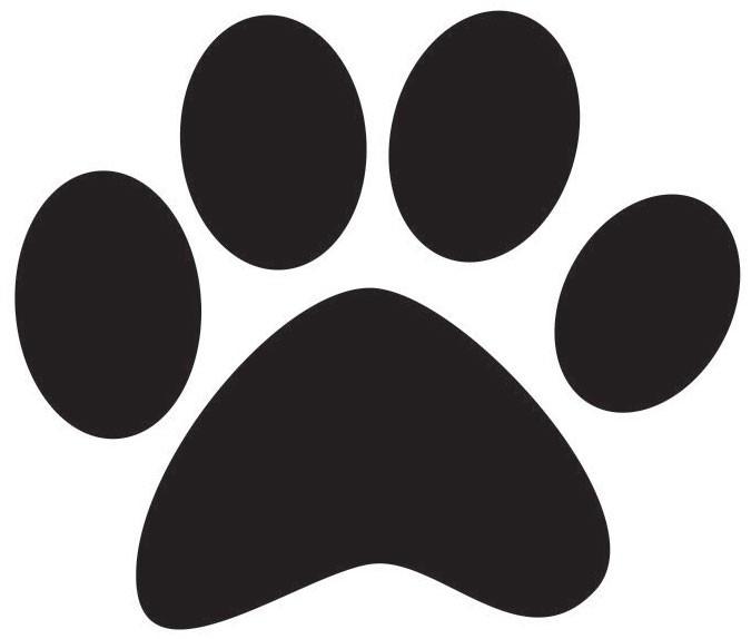 Pawprint clipart jpeg. Free dog paw print