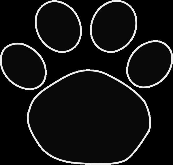 Wildcat clipart jaguar. Paw print clipartblack com