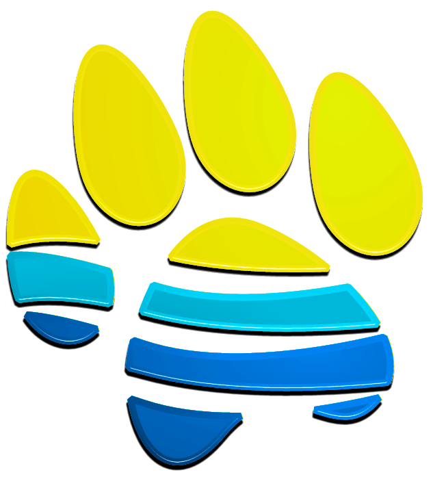 Sandy paws dog training. Pet clipart pet therapy