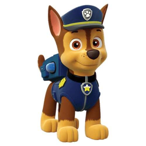 Paw patrol png images. Chase transparent stickpng download