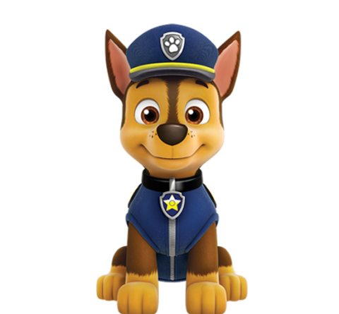 Paw patrol png images. Image chase international entertainment